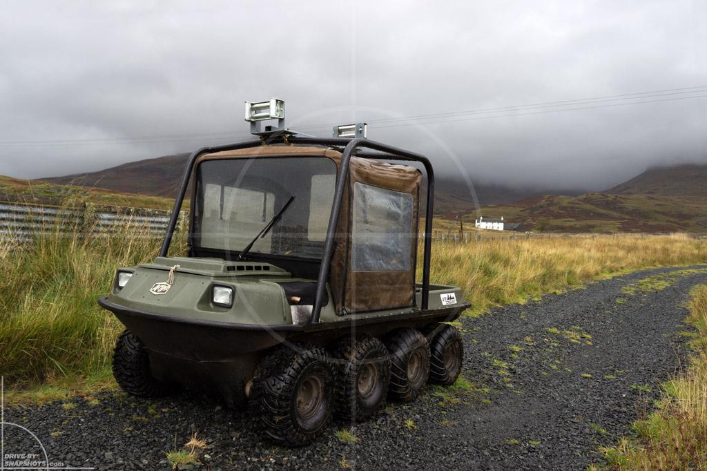 Argo 8x8 Isle of Mull Scotland | Drive-by Snapshots by Sebastian Motsch (2013)