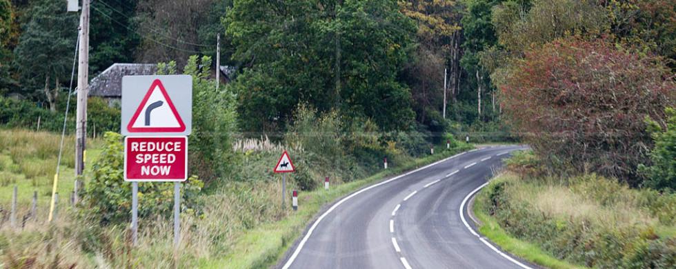 Reduce Speed Now Scotland | Drive-by Snapshots by Sebastian Motsch (2013)
