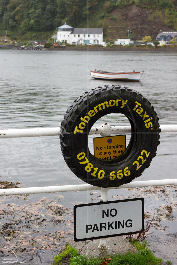 Tobermory Taxi Scotland | Drive-by Snapshots by Sebastian Motsch (2013)