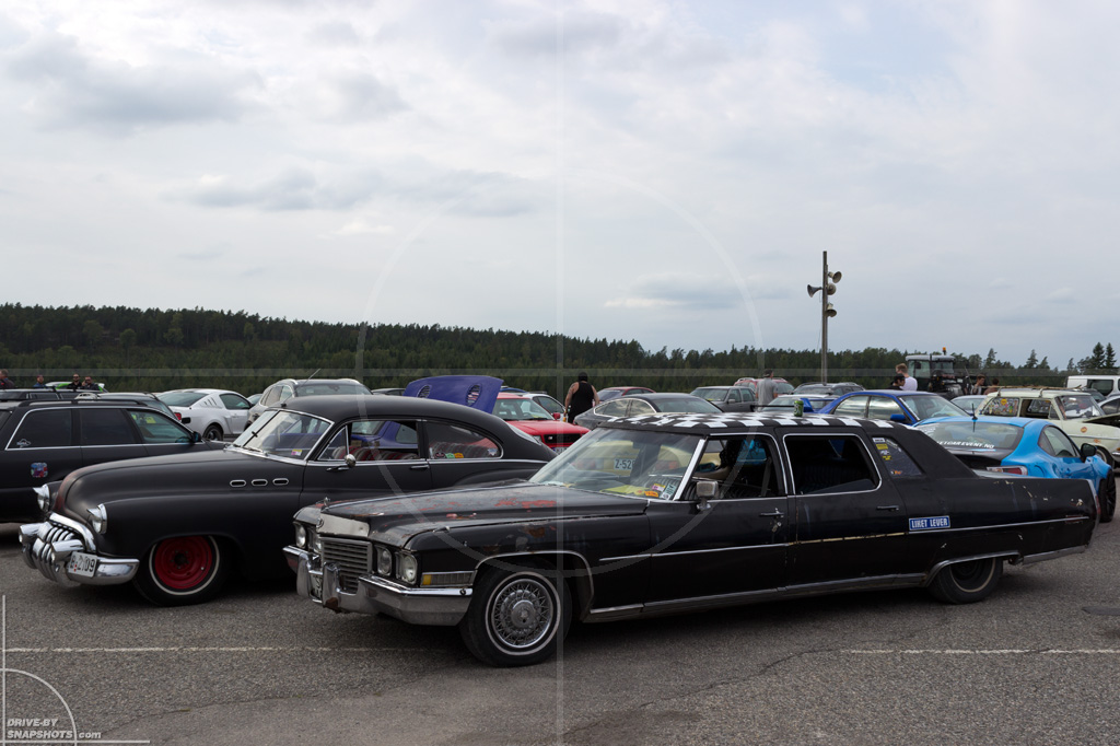 Wonder-Forest Cadillac Gatebil Rudskogen 2014   Drive-by Snapshots by Sebastian Motsch (2014)