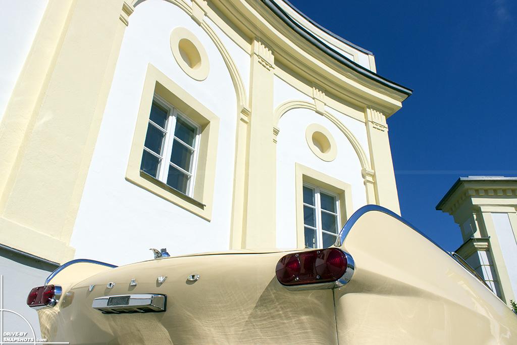 1963 Volvo P1800 at Schloss Freudenhain Passau | Drive-by Snapshots by Sebastian Motsch (2014)