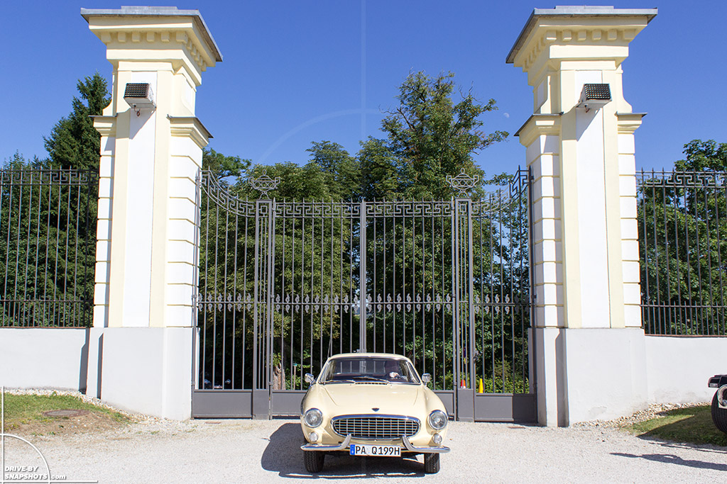 1963 Volvo P1800 at Schloss Freudenhain Passau   Drive-by Snapshots by Sebastian Motsch (2014)