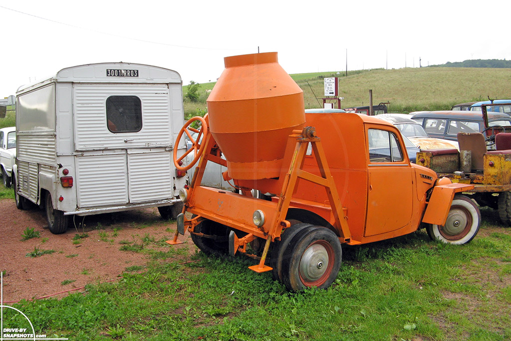 1955 Simca Hot Rod Concrete Mixer | Drive-by Snapshots by Sebastian Motsch (2007)