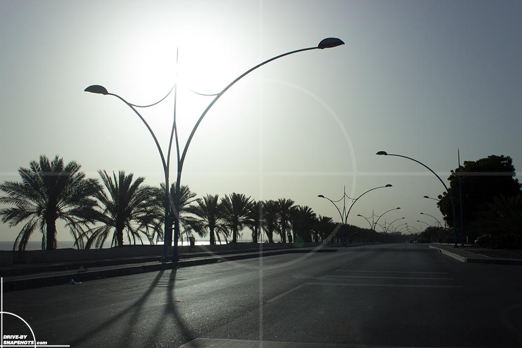 Sunrise in Muscat Oman | Drive-by Snapshots by Sebastian Motsch (2016)