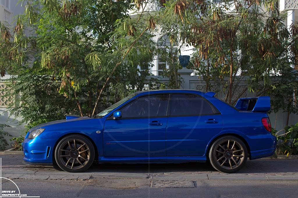 Subaru Impreza WRX STI Hawkeye Muscat Oman | Drive-by Snapshots by Sebastian Motsch (2016)