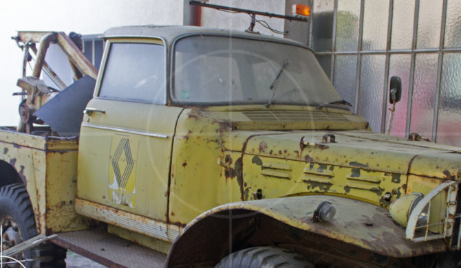 Dodge WC-51 Wrecker with Peugeot 404 Cab Conversion   Drive-by Snapshots by Sebastian Motsch (2016)
