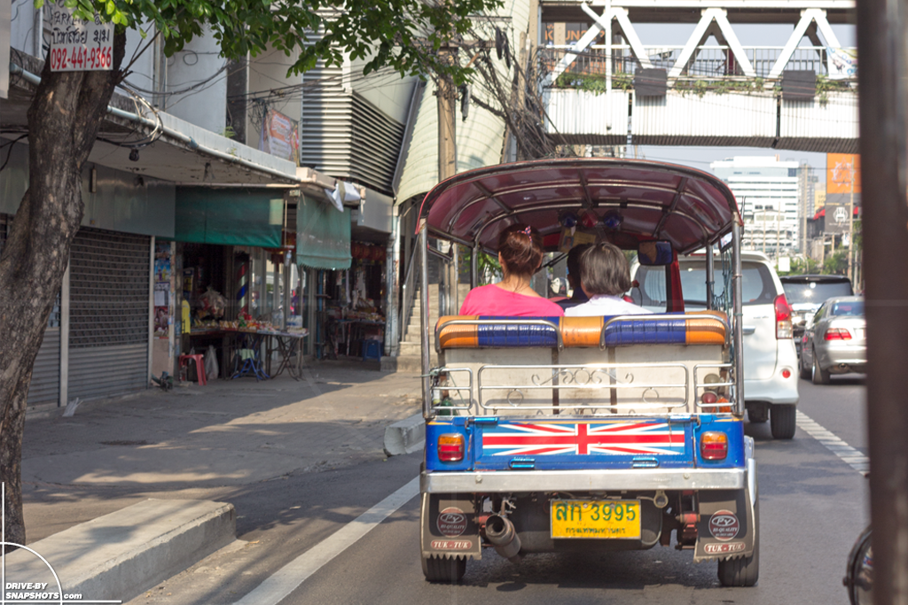 Bangkok Tuktuk 2016 | Drive-by Snapshot by Sebastan Motsch (2016)