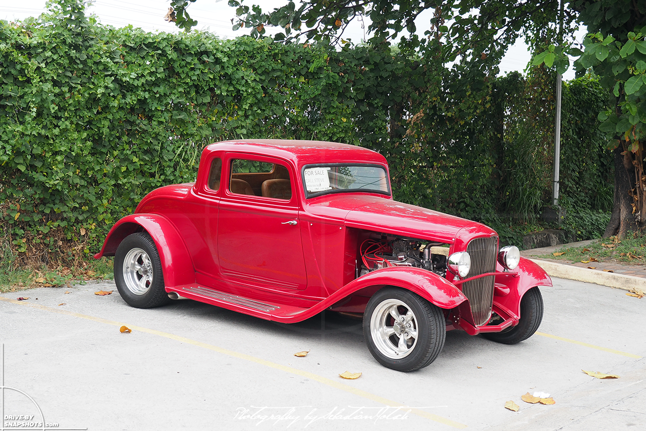 1932 Ford 5-window hot rod Angeles City Philippines   drive-by snapshots by Sebastian Motsch (2017)