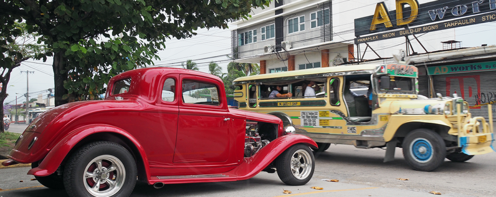 1932 Ford 5-window hot rod Angeles City Philippines | drive-by snapshots by Sebastian Motsch (2017)