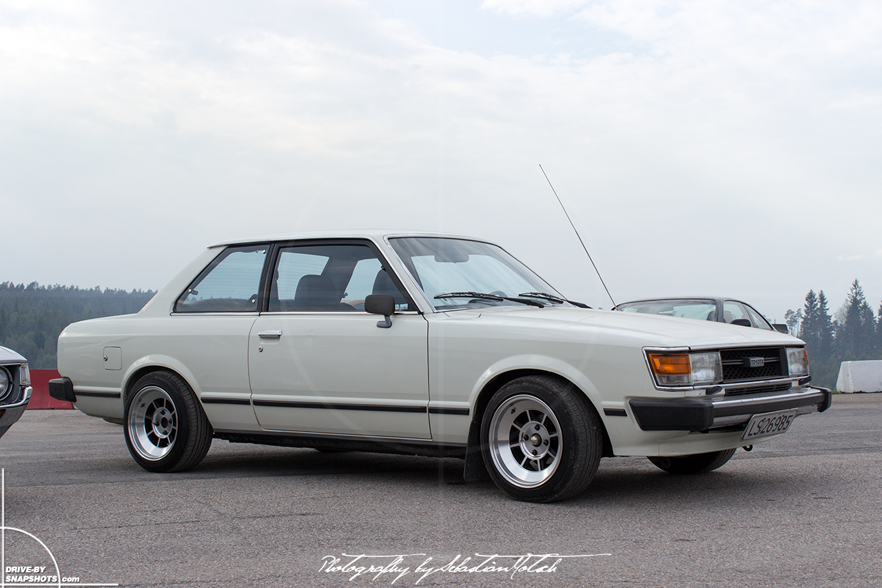 Toyota Carina TA20   drive-by snapshots by Sebastian Motsch (2014)