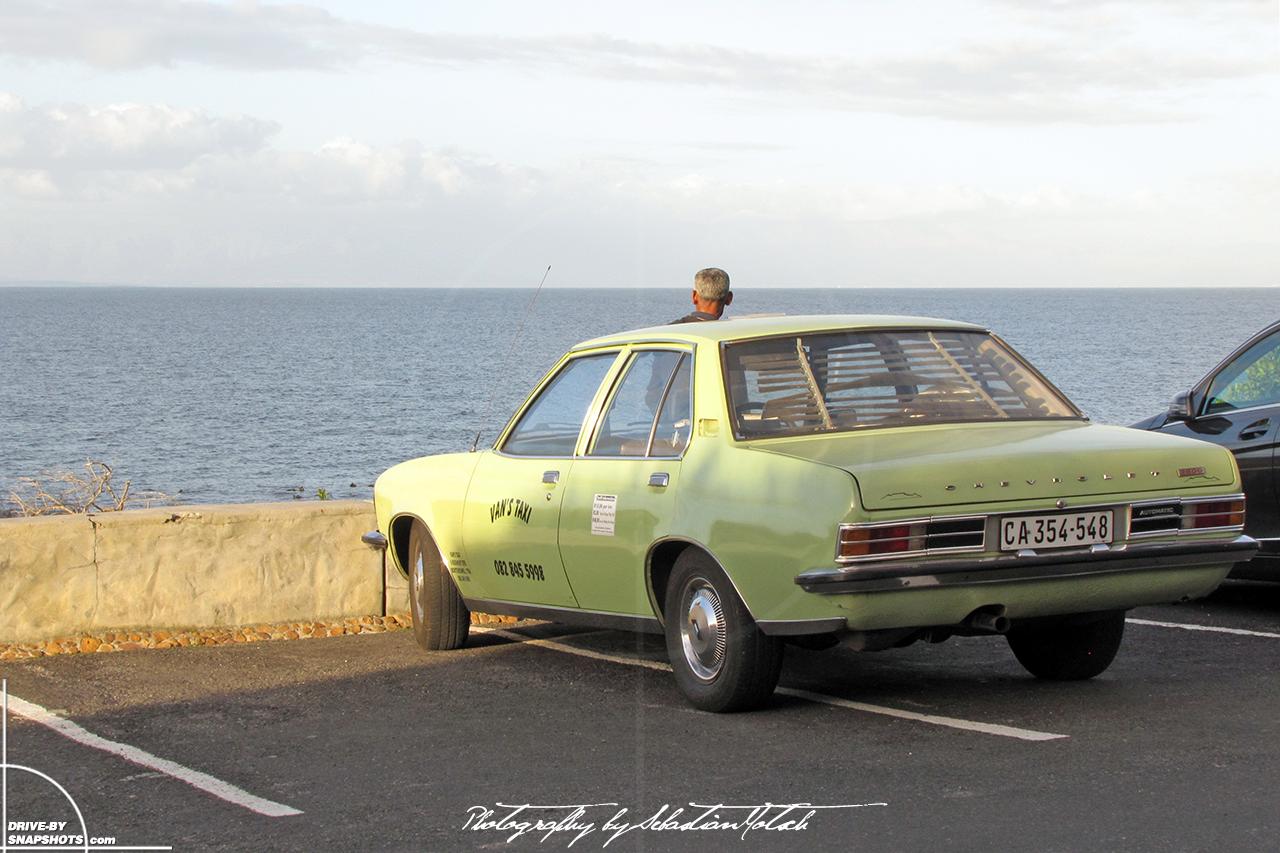 Chevrolet 3800 Taxi Muizenberg South Africa Opel Rekord D | Drive-by Snapshots by Sebastian Motsch (2012)
