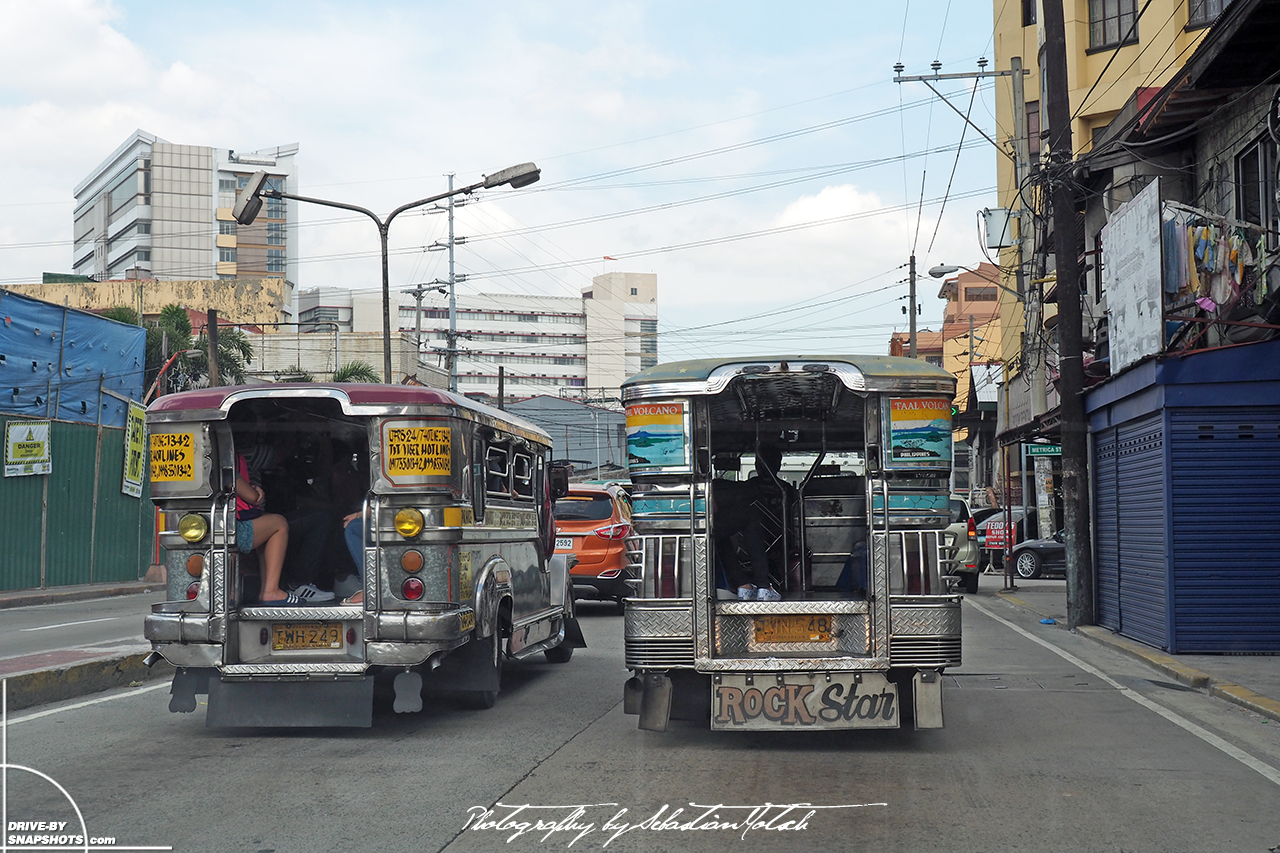 Jeepneys in Manila Philippines | Drive-by Snapshots by Sebastian Motsch (2017)