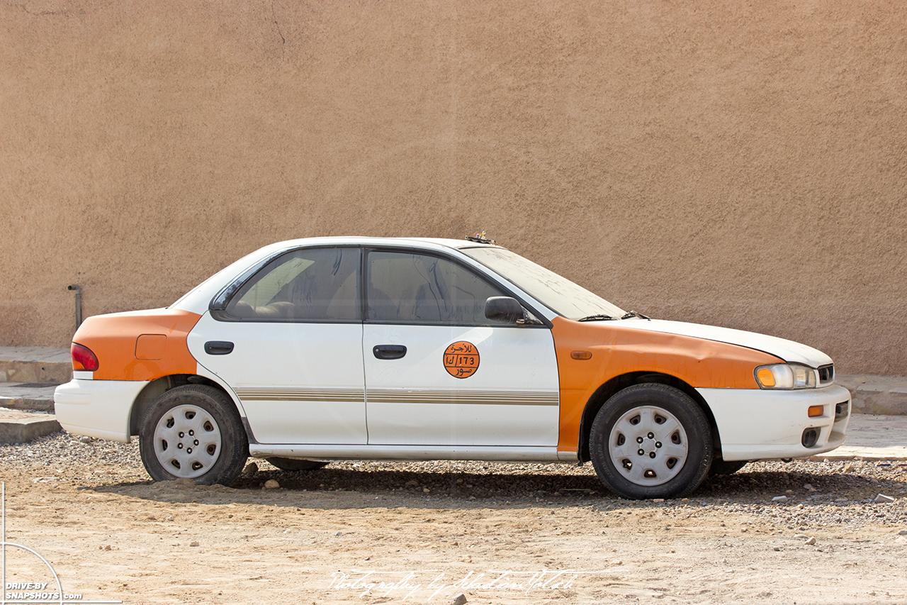 Subaru Impreza Taxi Sur Oman | Drive-by Snapshots by Sebastian Motsch (2015)