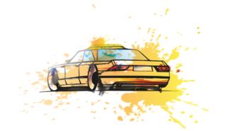 Mercedes-Benz TAXI Concept | artwork by Jonas Franz (2017)