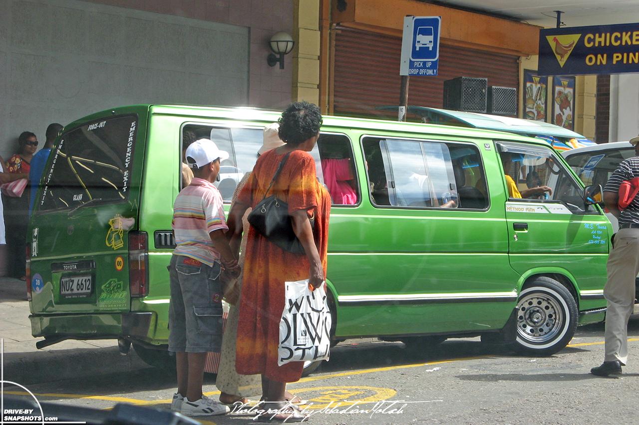 Toyota Hiace Siyaya Taxi Durban South Africa | Drive-by Snapshots by Sebastian Motsch (2007)