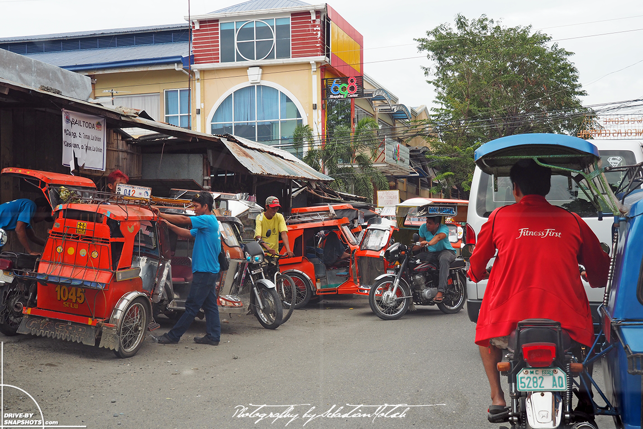 Tricycle Taxis in rural Ilocos Philippines | Drive-by Snapshots by Sebastian Motsch (2017)