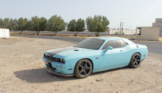Dodge Challenger SRT-8 392 Hemi Muscat Oman | Drive-by Snapshots by Sebastian Motsch (2016)