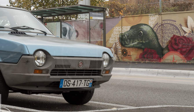 FIAT Ritmo 65 CL Strasbourg France | Drive-by Snapshots by Sebastian Motsch (2016)