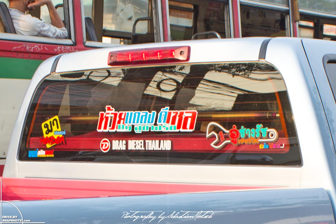 Isuzu d max slx crew cab drag diesel thailand