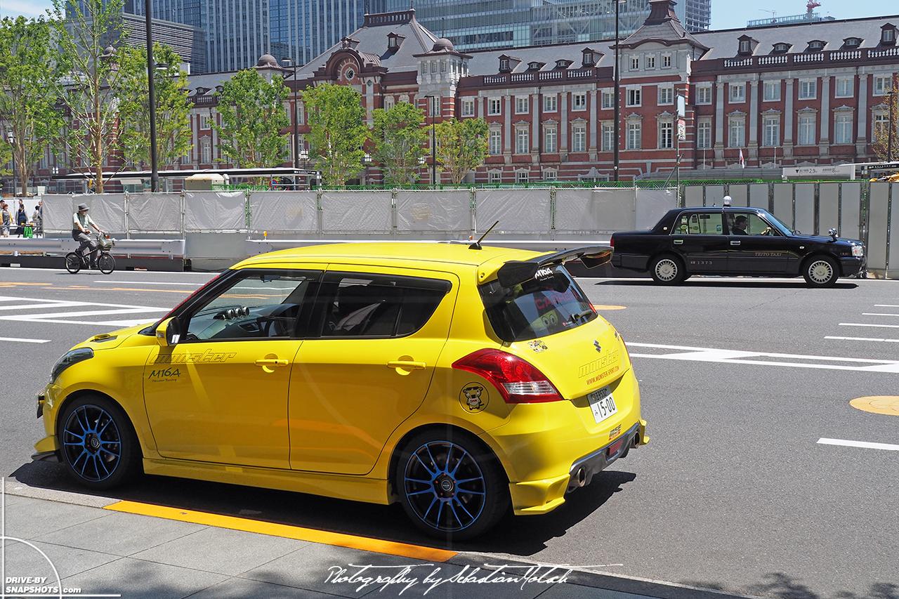 Suzuki Swift Sport at Tokyo Station @ Drive-by Snapshots by Sebastian Motsch (2017)