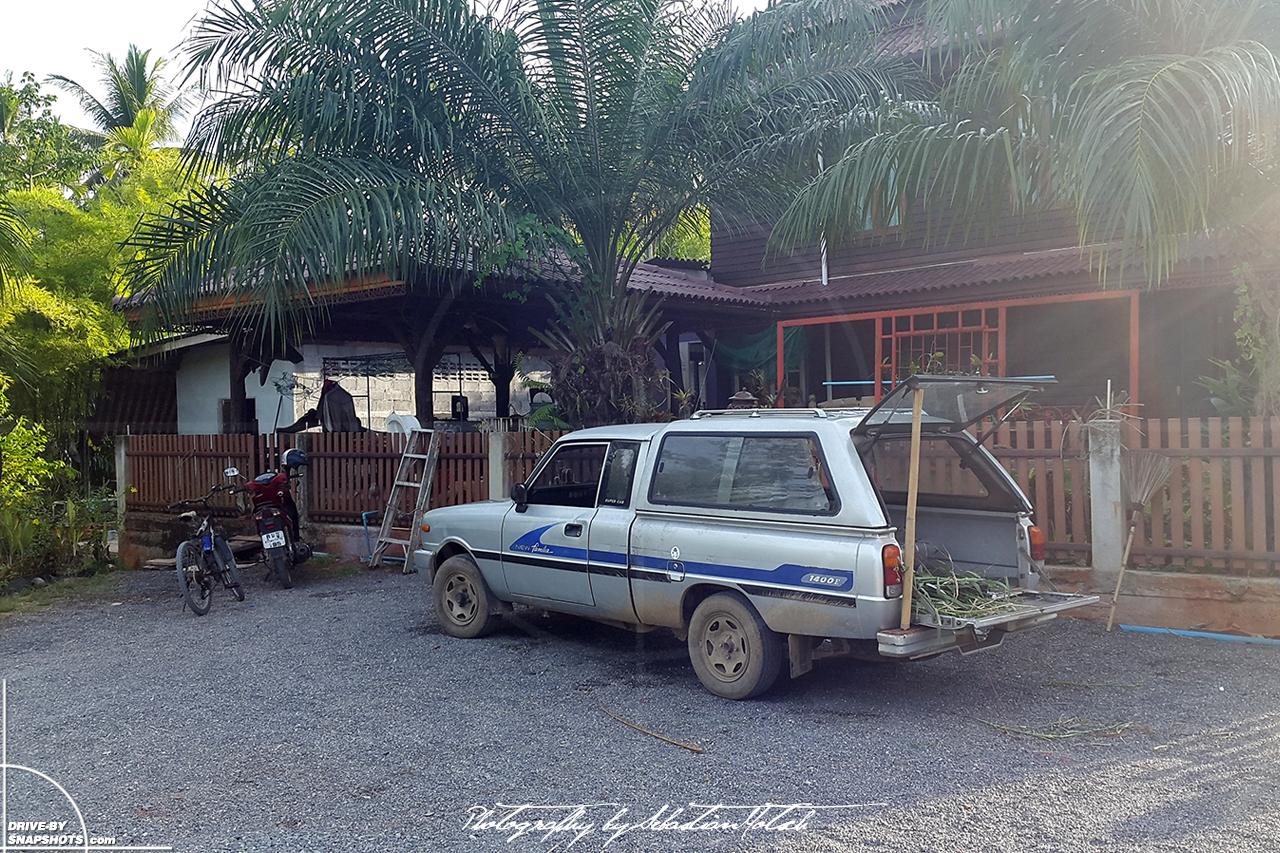 Mazda Familia 1400 pick-up Surat Thani Thailand | Drive-by Snapshots by Sebastian Motsch (2016)