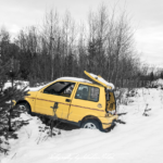 FIAT Cinquecento Sporting Silvester Blues | Drive-by Snapshots by Sebastian Motsch (2017)
