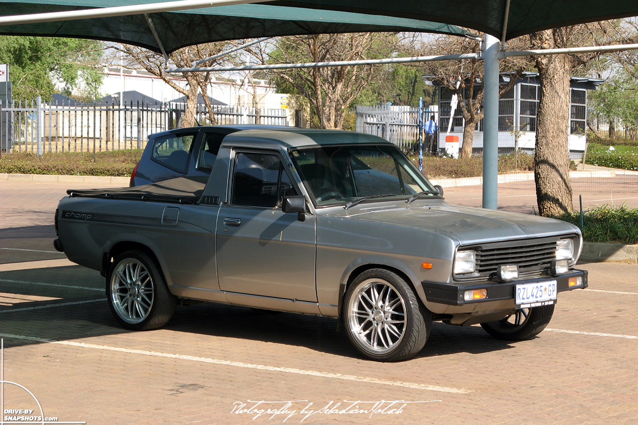 Nissan Bakkie 1400 Pick-up Champ South Africa Midrand | Drive-by Snapshots by Sebastian Motsch (2008)