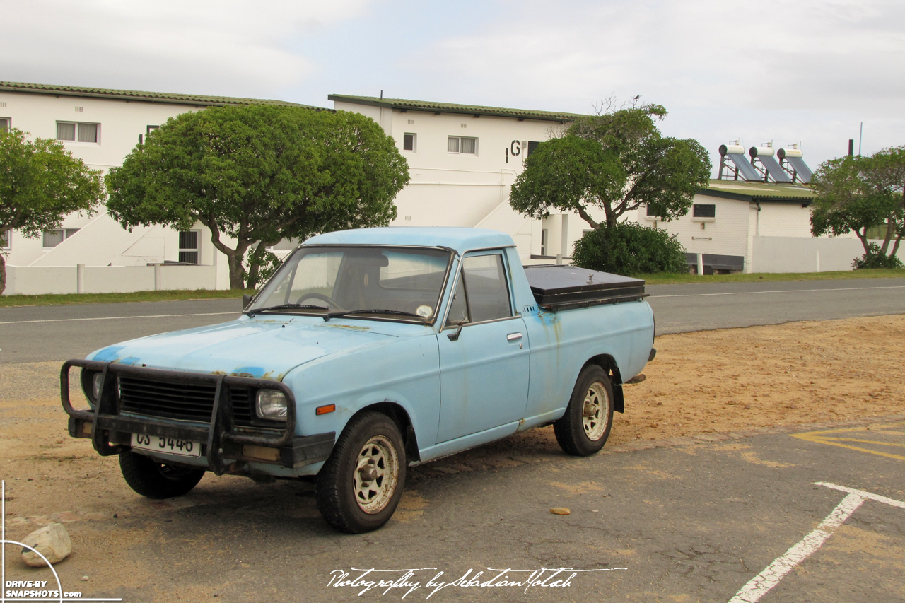 Nissan Bakkie 1400 Pick-up South Africa Cape Aghulas | Drive-by Snapshots by Sebastian Motsch (2012)