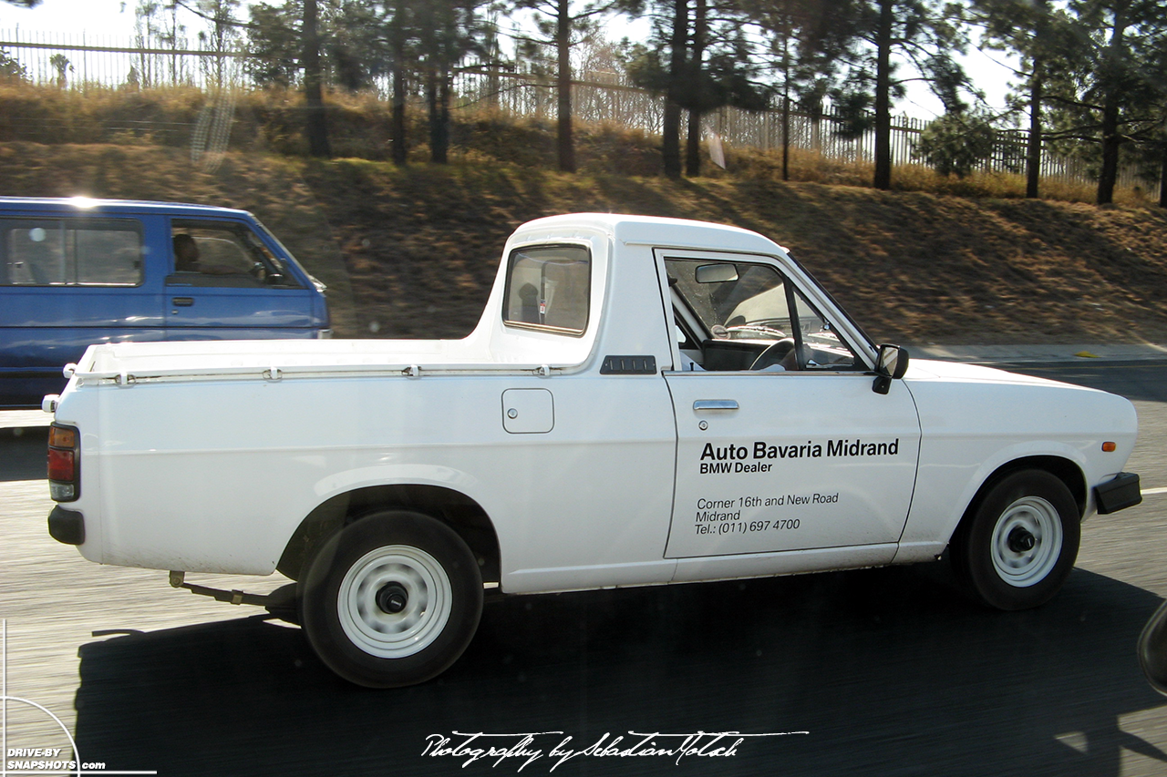 Nissan Bakkie 1400 Pick-up South Africa Midrand BMW Auto Bavaria | Drive-by Snapshots by Sebastian Motsch (2007)