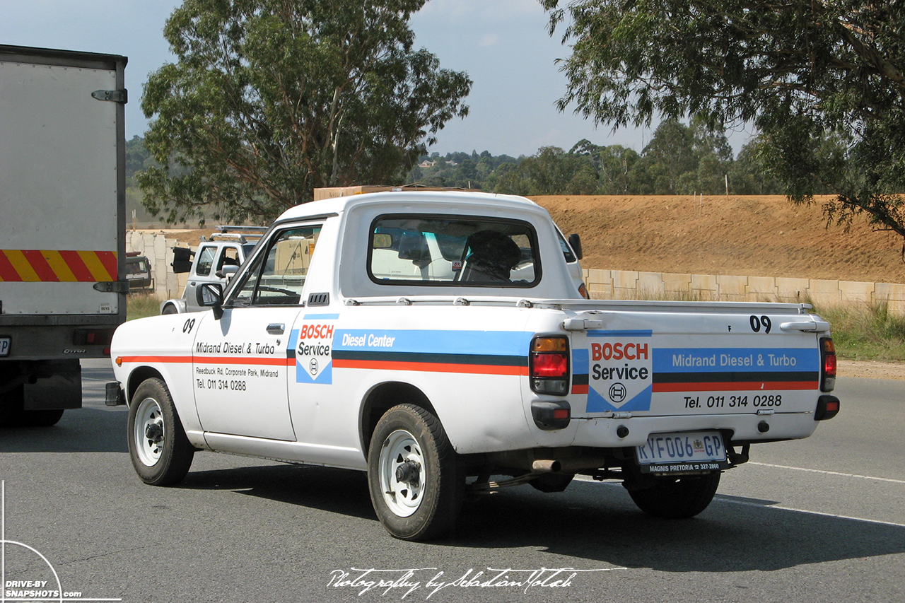 Nissan Bakkie 1400 Pick-up South Africa Midrand Bosch Diesel Center | Drive-by Snapshots by Sebastian Motsch (2008)